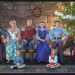 The Royal Family gathered for a Christmas Photo