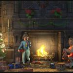 The kids of Daventry enjoying Christmas
