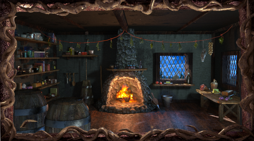 King's Quest III - Image Gallery